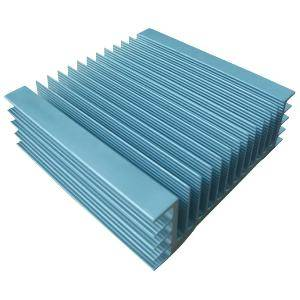 Customized aluminium extrude heat sink
