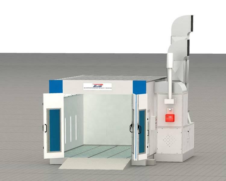 BZB-8000S Spray Booth(Germany  Standard)