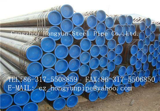 ASTM A53 ERW/LSAW Straight welded steel pipe From China manufacturer