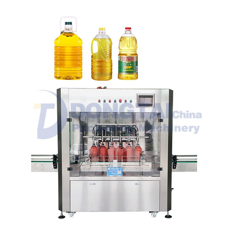 Cooking Oil Filling Machine Automatic weighing edible oil filling machine