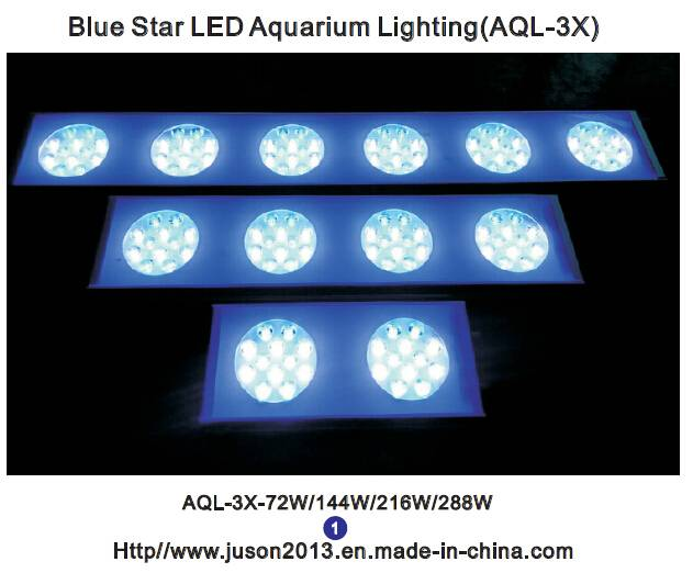 Wholesale aircraft aluminum 72W cheap sunset and sunrise led aquarium lights welcome OEM/ODM CE/RoHS