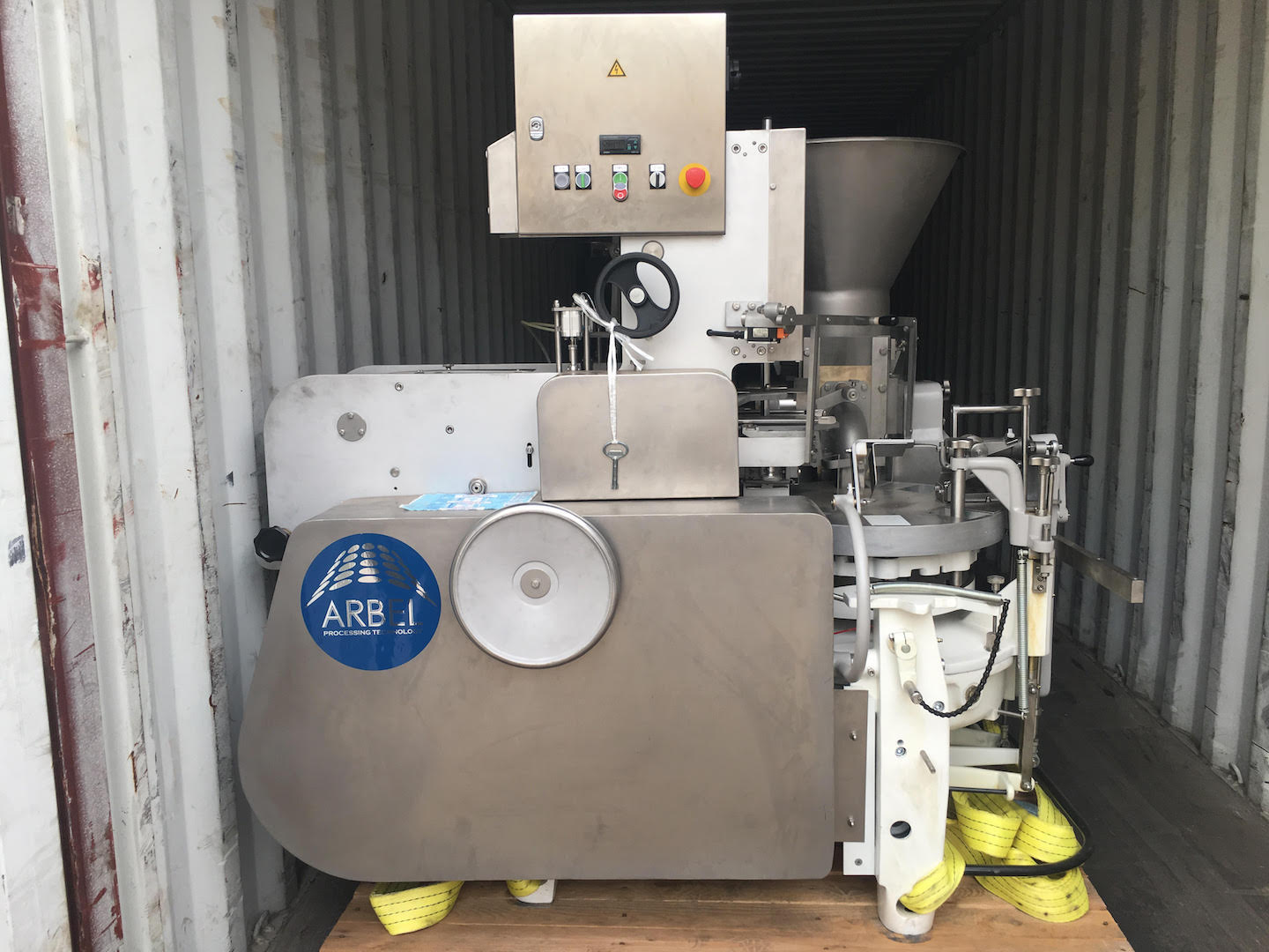 Tvorog/Butter Wrapping Machine Fasa Lithuania