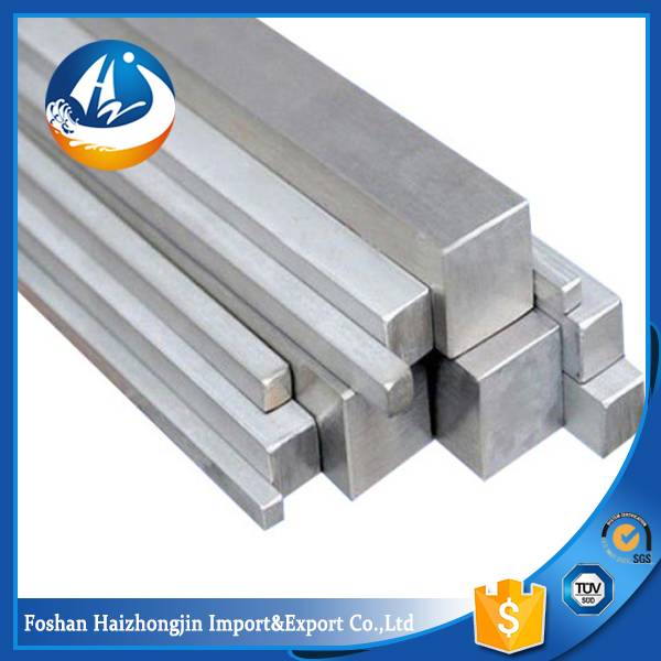 price standard 304l stainless steel square bar