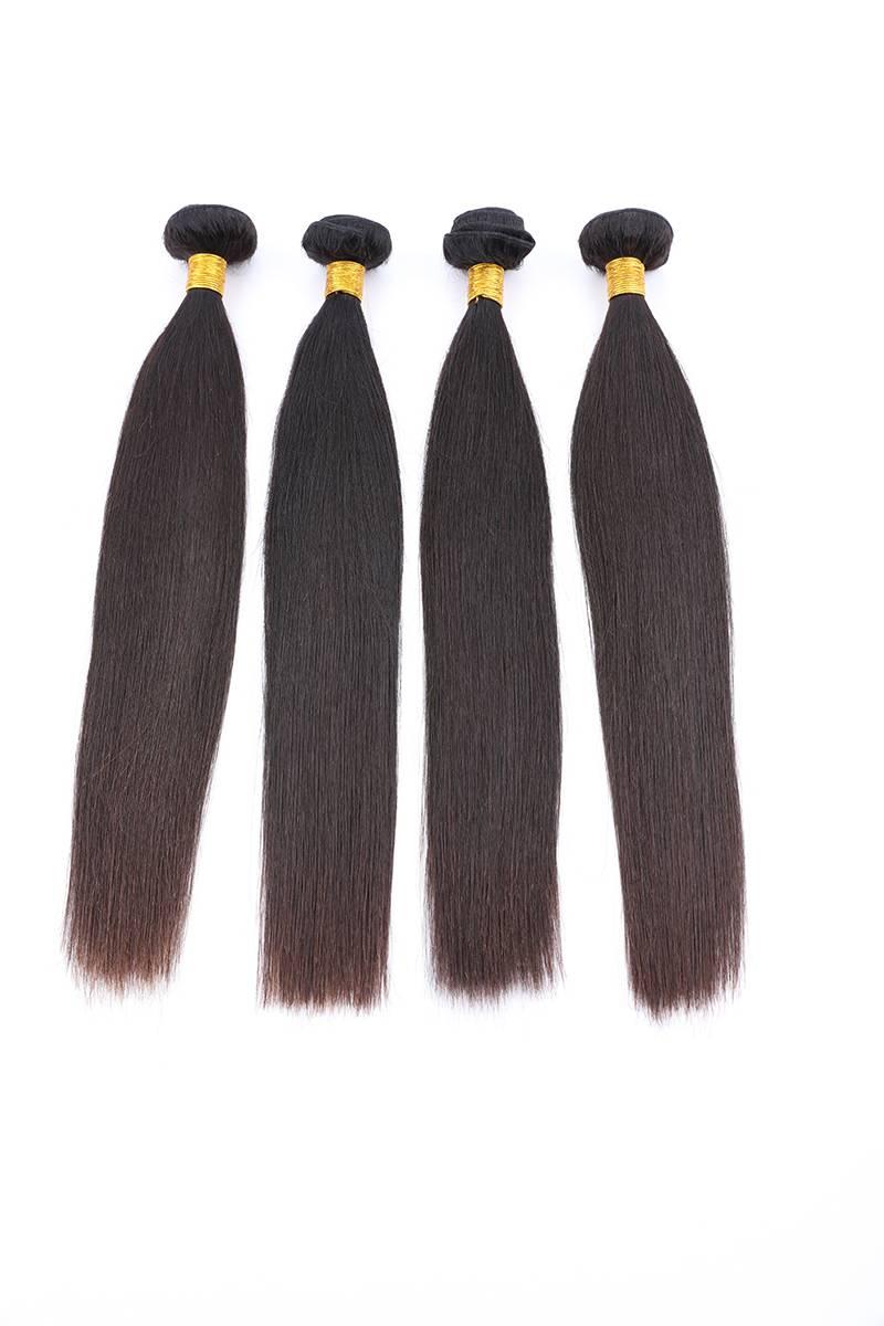 Human virgin hair weaving brazilian hair Indian hair weave wigs