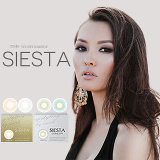 PC Slicone Hydrogel Soft Color Contact Lens- Siesta