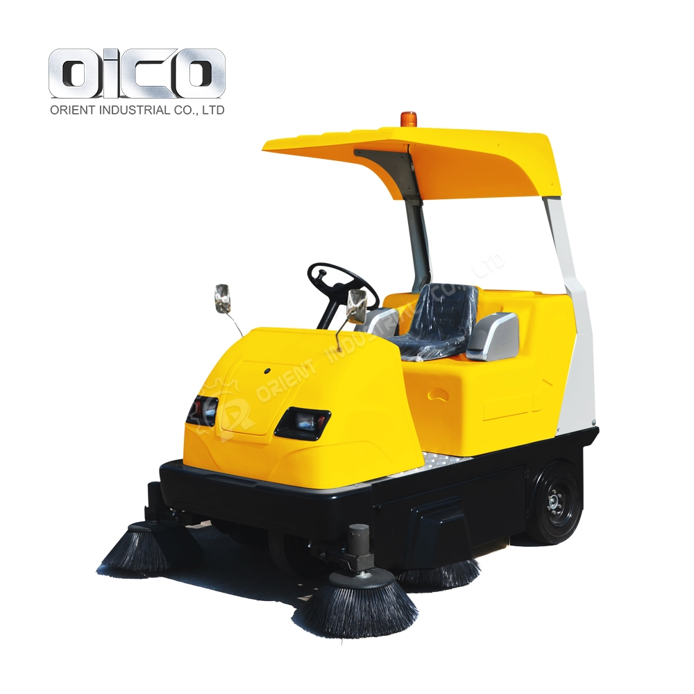 E8006 Industrial Sweeping Machine Pavement Sweeper With CE Certificate