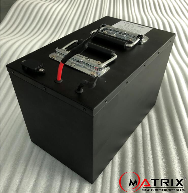 Matrix Electric motorcycle battery 72v 30Ah 2000w 3000w Lithium ion battery with built-in BMS
