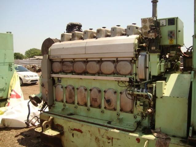 Wartsila 6L20 Marine generator