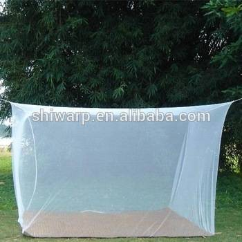 Bed Canopy Mosquito Net white rectangular
