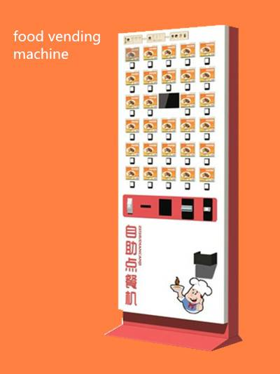 Factory Supplier Order Foods Vending Machine for Sale