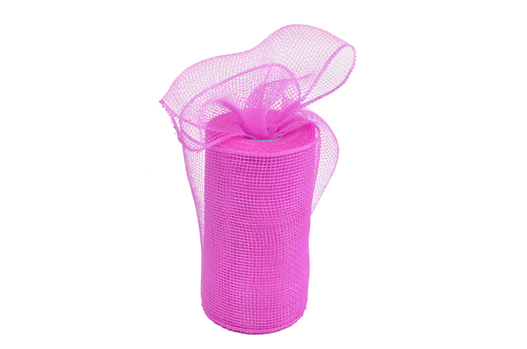 "6""10y dark pink home decoration material solid pp mesh for A04R6"