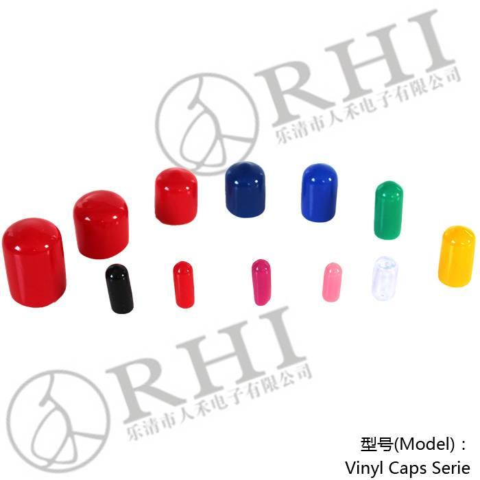 Manufacturer red round plastic caps / round cap