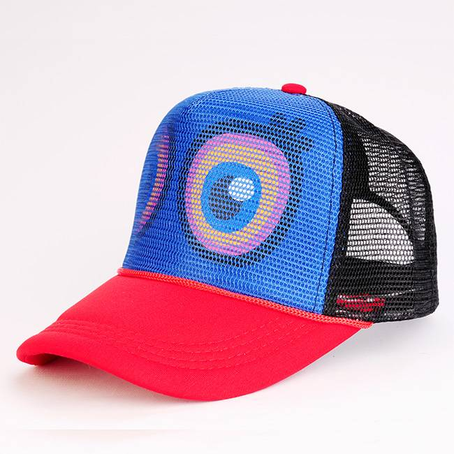 Personalized Polyester Mesh Cap Trucker Hat Supplier