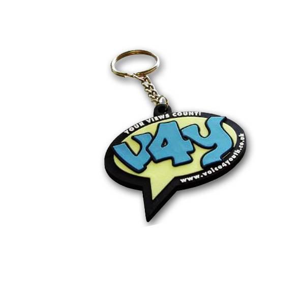 2015 promotional 3d soft pvc keychain