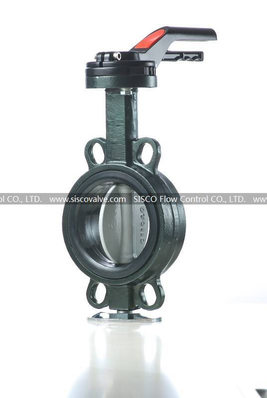 Wafer Resilient Seated Butterfly Valve