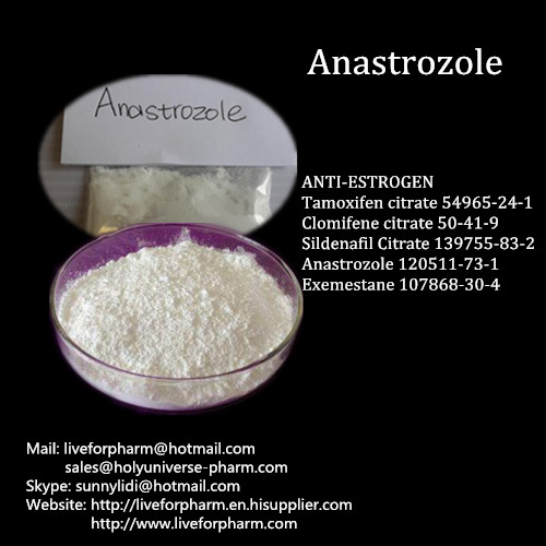 Purity Powder for Cancer Treatment Anastrozole Arimidex enough stock
