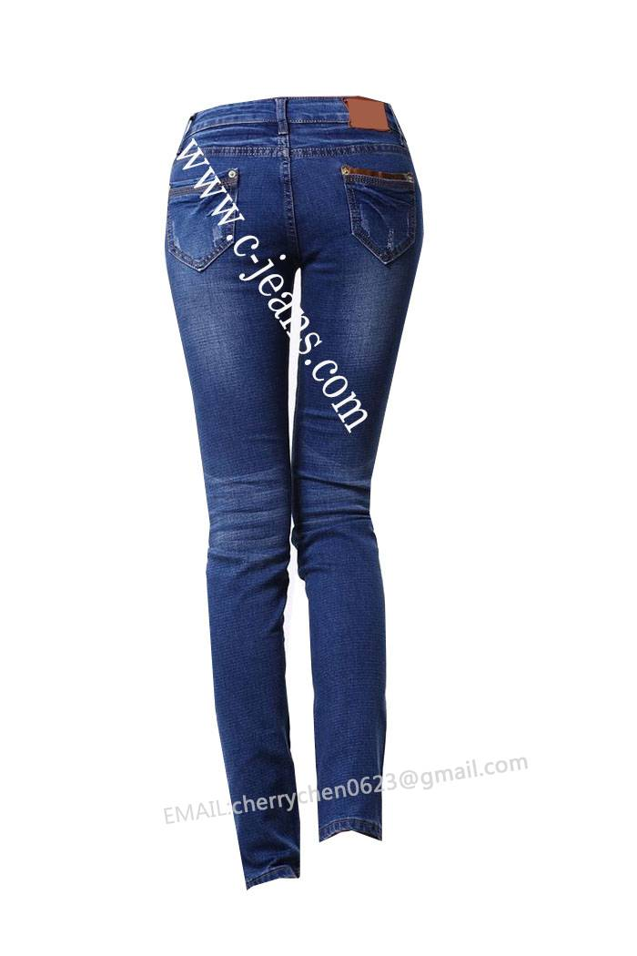 2014 New Design Summer Sexy Lady Jeans. Fashion Ladies' Jeans