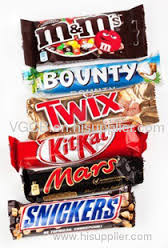 snickers mars bounty chocolate