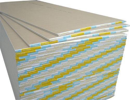 paper faced plaster board