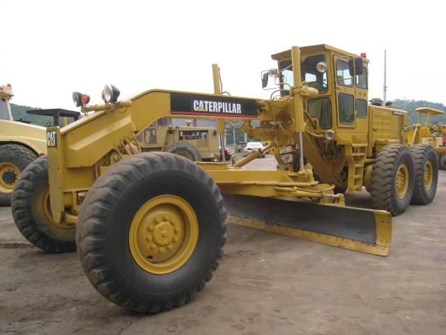 Used Caterpillar 14G Motor Grader