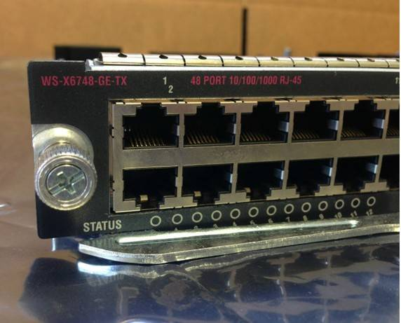 Cisco WS-X6748-GE-TX Switch Modules
