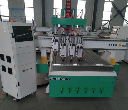 Competitive price 4 axis cnc router , cnc router metal cutting machine for door