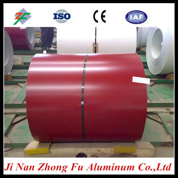 PVDF Color Coated Aluminium Sheet Coils for indoor decoration
