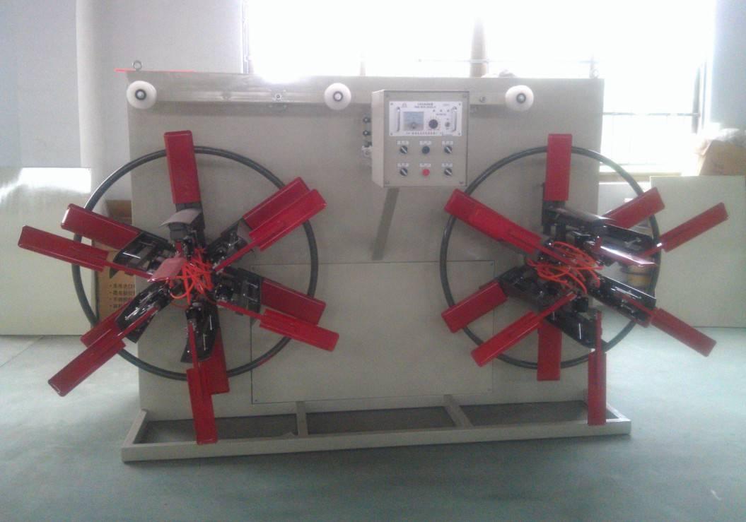 Plastic PE pipe coiler machine