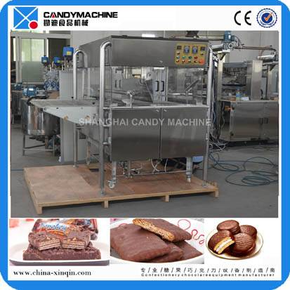 2016 New products chocolate machine enrobing