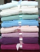 Jacquard bath towel
