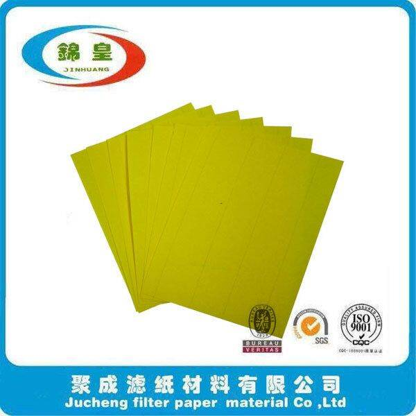 Auto engine air filter paper