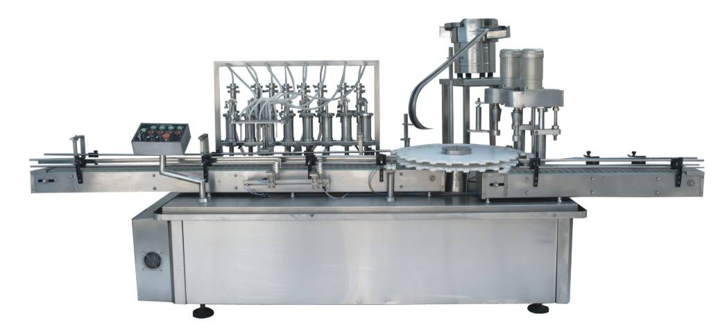 YXT-YG8/2 filling equipment and capping equipment
