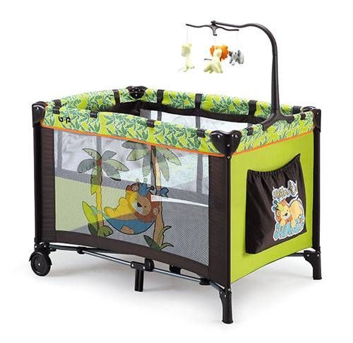 easy folding outdoor travel cot full function infant baby playpen most popular infant large playpen