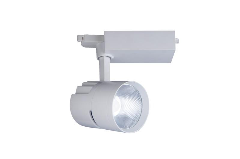 Matte White Customized LED COB Track Light