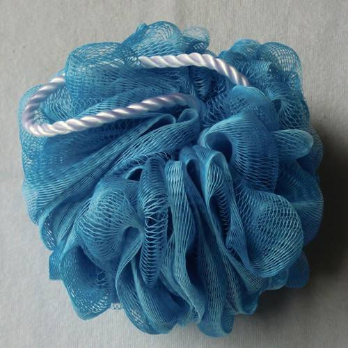 OEM colorful shower sponge puffs