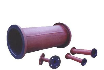 Glass-lined pipe