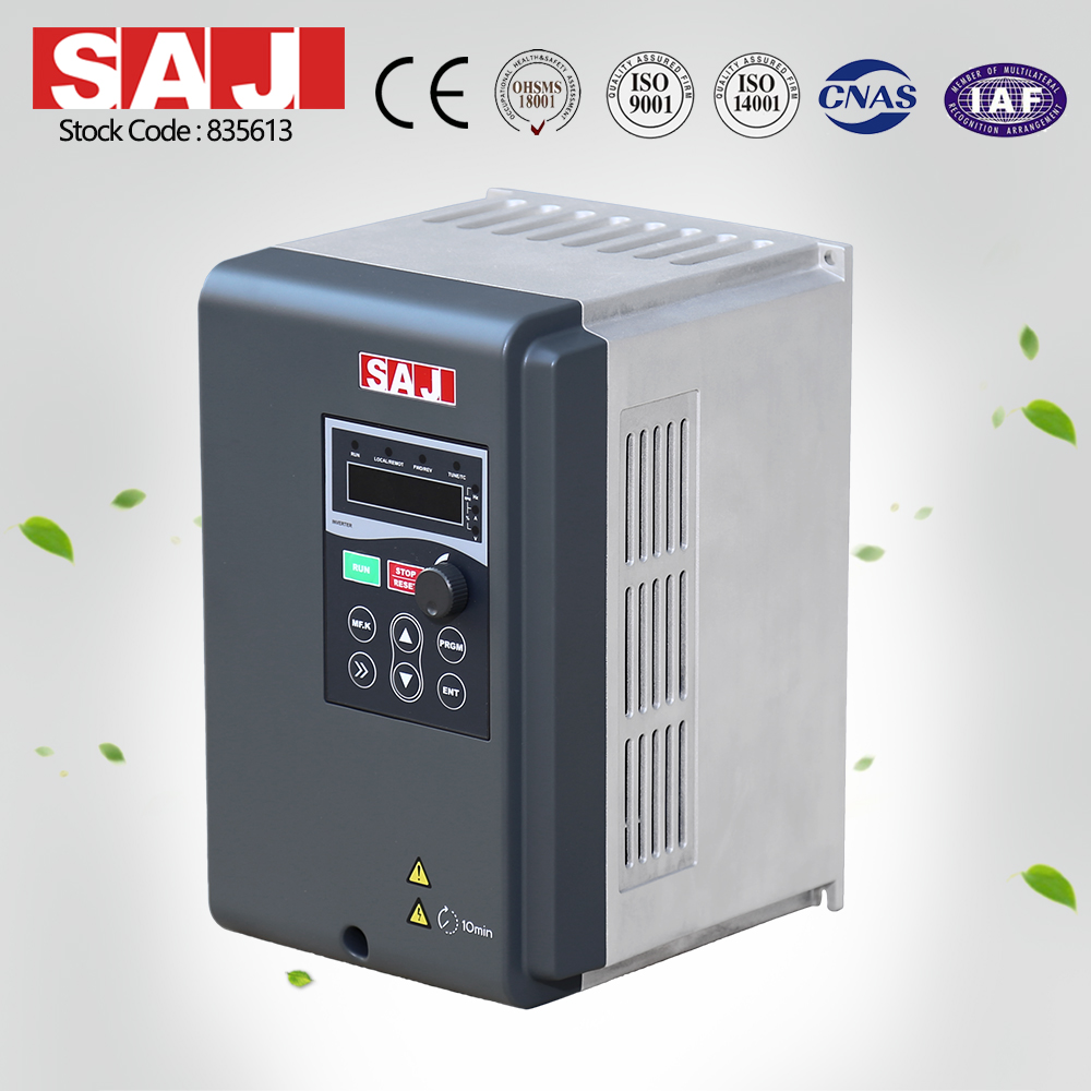 SAJ New Generation Variable Frequency Speed Controller Pure Sine Wave Inverter For Sale