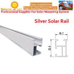 Newsunpower Silver Aluminum Rail for PV System