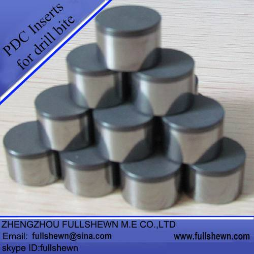 PDC Inserts for drill bits