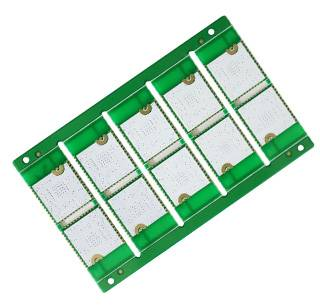 Half hole printed circuit board pcb manufacturer with RoHs and UL certification