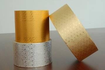 Gold &Silver Aluminum Foil Paper