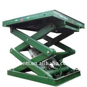 Warehouse hydraulic cargo scissor lift price with CE