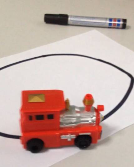 battery operated inductive car truck