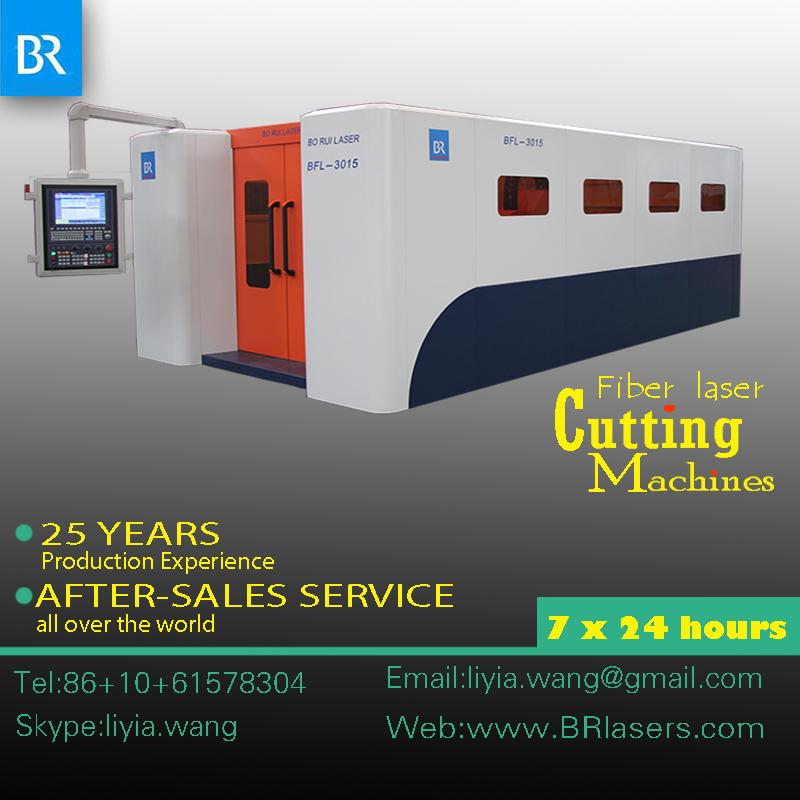 fiber laser cutting machine for matal sheet