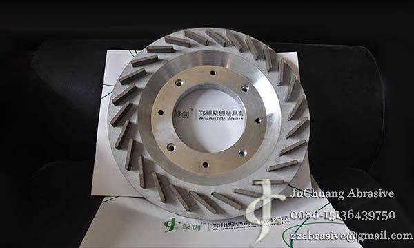 The sintered metal sapphire thinning Wheel