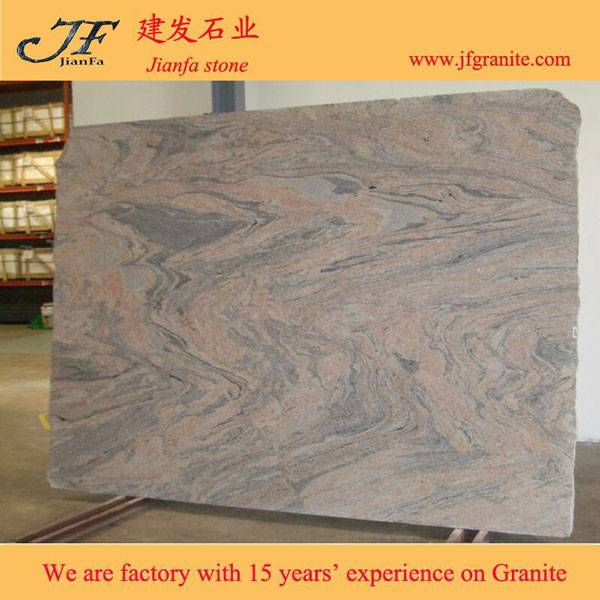 Cheaper China Colombo Juparana Pink Granite Slabs
