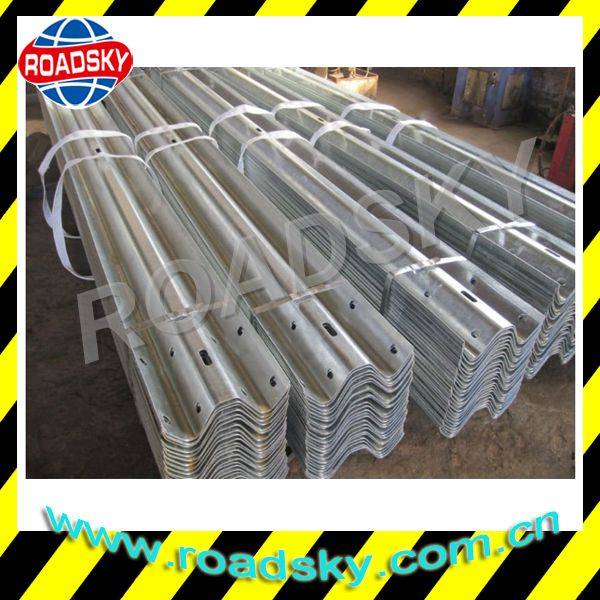 Highway Stainless Steel Flex Beam Galvanized Guardrail