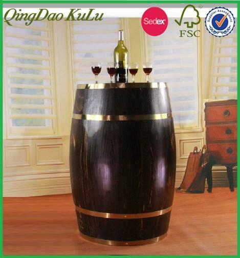 wooden storage barrel