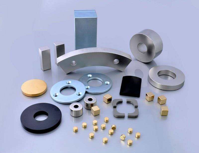 customize special shapes neodymium magnets