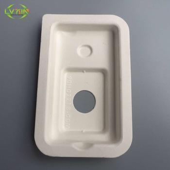 Professional custom electronic sugarcane press pulp phone packaging tray